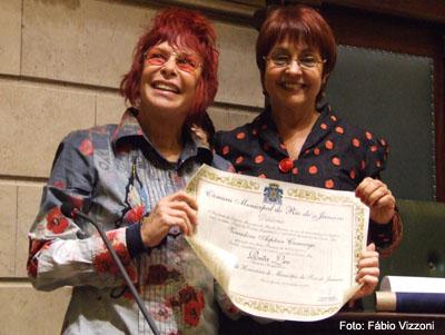 Rita Lee e Aspásia Camargo