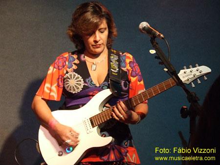 Crikka Amorim - Foto: Fábio Vizzoni / Site Música e Letra