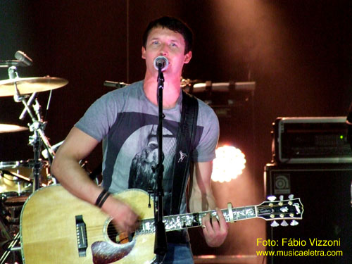 James Blunt - Foto: Fábio Vizzoni - Site Música & Letra