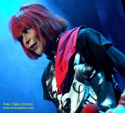 Rita Lee no Circo Voador - Foto: Fábio Vizzoni - Site Música & Letra