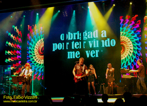 Rita Lee e Roberto de Carvalho (2008) - Foto: Fábio Vizzoni - Blog Música e Lerta