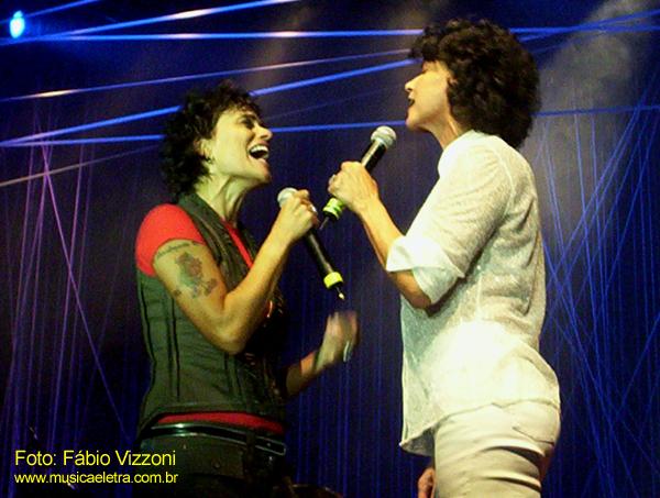 Zélia Duncan e Simone (2006) - Foto: Fábio Vizzoni / Música e Letra